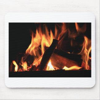 Flames Fire Hot Firemen City Office Party Destiny Mouse Pads
