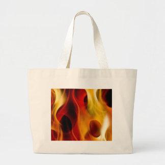 Flames Jumbo Tote Bag