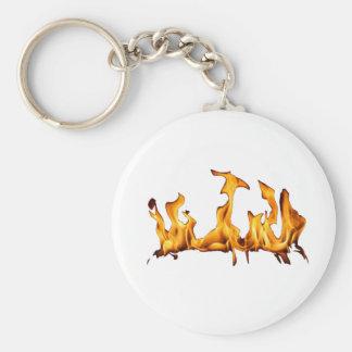 flames key chain