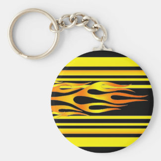 Flames   Keychain