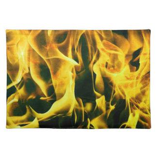 flames placemat