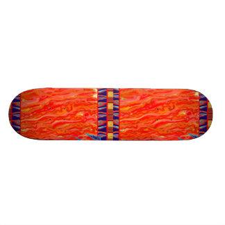 Flames Skateboard Personalize IT