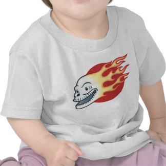 Flameskull -Retro Shirts