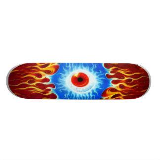 Flamin Big Eye Skate Deck