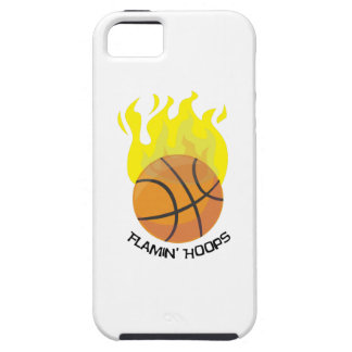 Flamin Hoops iPhone 5 Cover