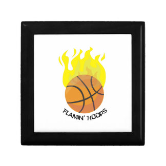 Flamin Hoops Small Square Gift Box