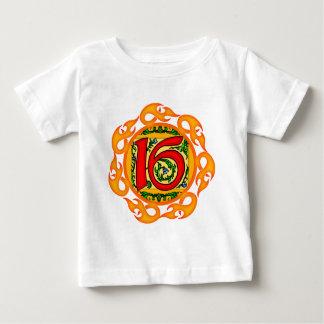 Flaming 16th Birthday Gifts Shirts