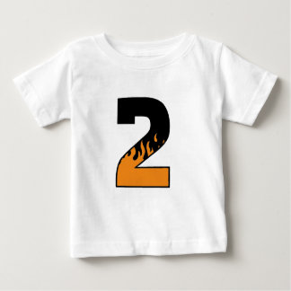 Flaming 2 baby T-Shirt