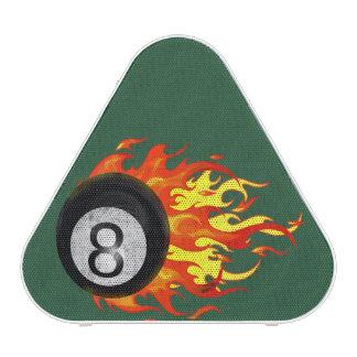 Flaming 8 Ball