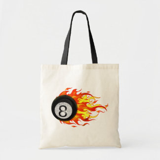 Flaming 8 Ball Bags