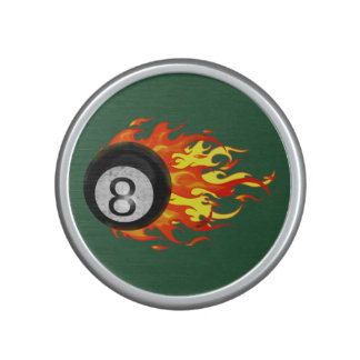 Flaming 8 Ball Bluetooth Speaker