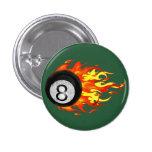 Flaming 8 Ball Pin