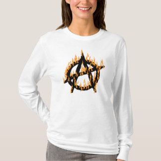 Flaming Anarchy T-Shirt