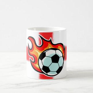 Flaming Ball St George Flag Coffee Mug