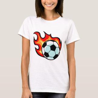 Flaming Ball St George Flag T-Shirt