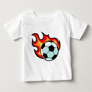 Flaming Ball Union Jack Baby T-Shirt