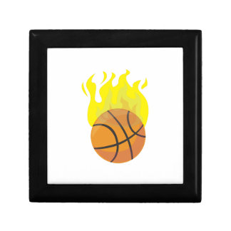 Flaming Basketball Gift Boxes