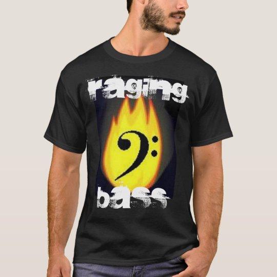 Flaming Bass Clef Shirt