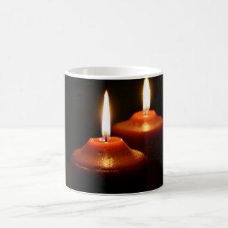 Flaming Candles Magic Mug