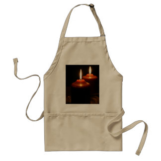 Flaming  Candles Standard Apron