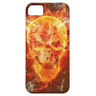 Flaming Demon Skull iPhone 5 Case