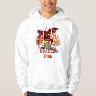 Flaming Dragon Hoodie