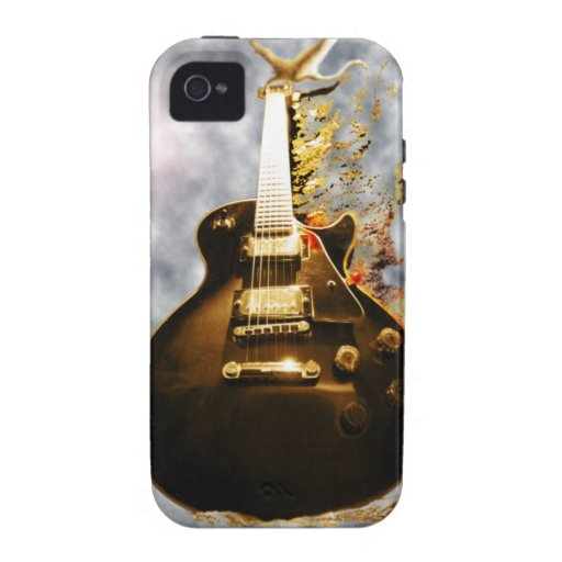 Flaming E-guitar Dream iPhone 4/4S Case-Mate Vibe