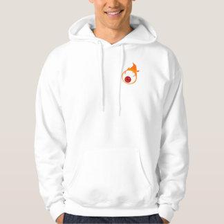flaming eye hoodie