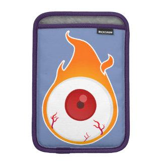 flaming eye iPad mini sleeve