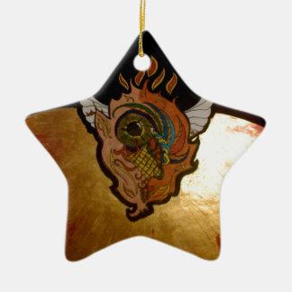 Flaming eye.jpg christmas ornament
