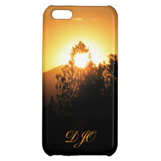 Flaming Fir with monogram iPhone 5C Covers
