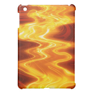 Flaming Fire Hard Shell iPad Mini Cases
