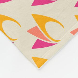 Flaming Fire (orange to pink) Fleece Blanket