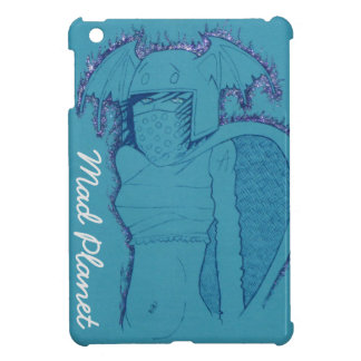 Flaming Ghost Girl iPad Mini Cover