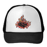 Flaming Heart Hat