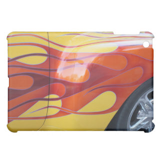 Flaming Hot Car Paint  iPad Skin Case For The iPad Mini