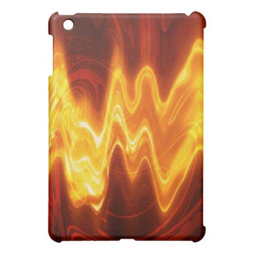 Flaming Hot! iPad Case Hard Shell