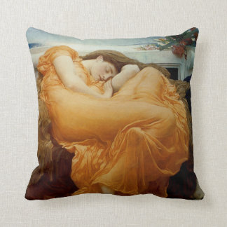 Flaming June Cushion