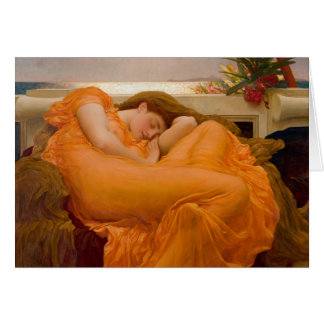 Flaming June - Frederic Lord Leighton Card
