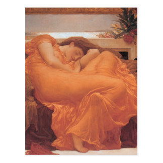 Flaming June - Lord Frederick Leighton Postcard