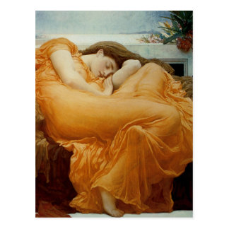 Flaming June Postcard