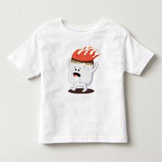 Flaming Marshmallow Toddler T-Shirt