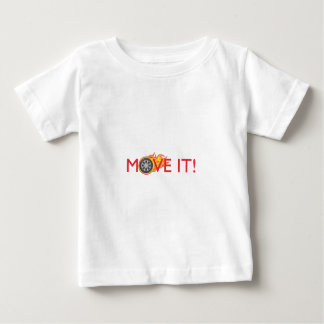 FLAMING MOVE IT T SHIRT