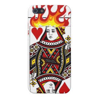 Flaming Queen iPhone 5 Cases