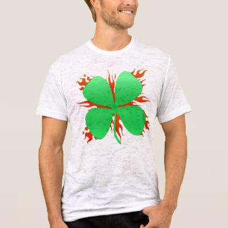 flaming shamrock T-Shirt