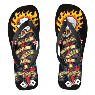 Heavy Metal Flip Flops \u0026 Sandals