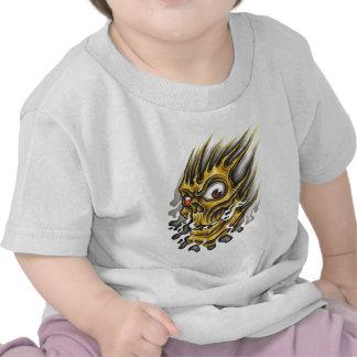 Flaming-Skull jpg Shirt