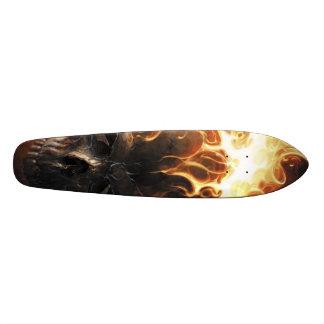 Flaming skull pattern1 20.6 cm skateboard deck