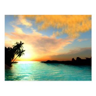 Flaming Sky Postcard