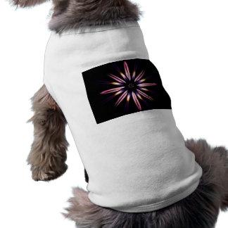 Flaming Sleeveless Dog Shirt